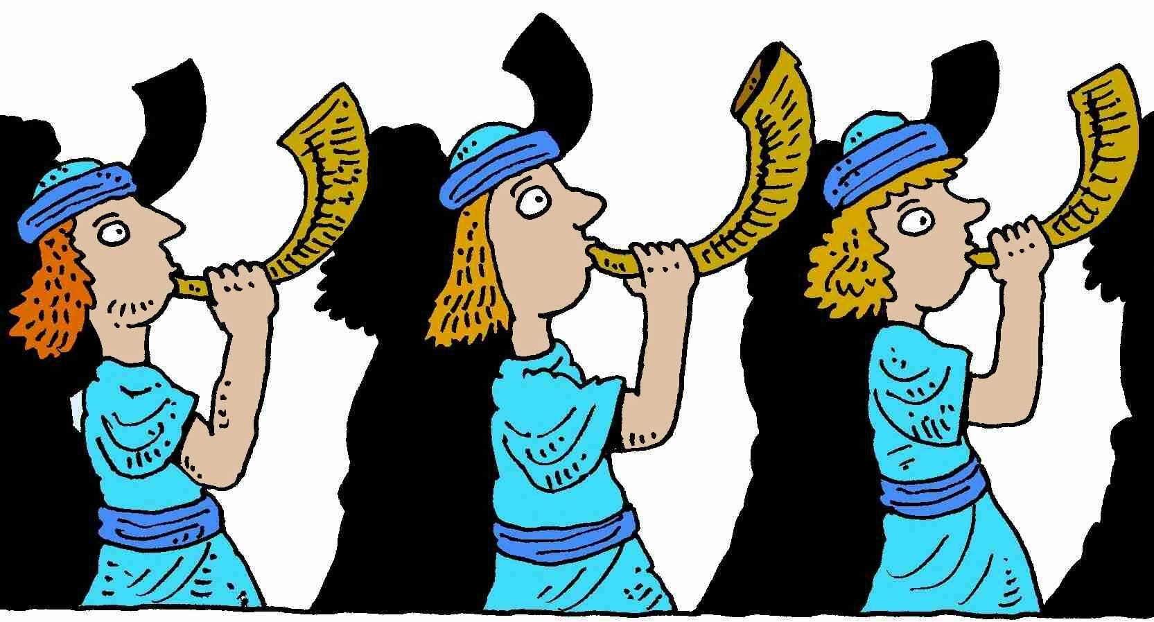 Priests and shofars