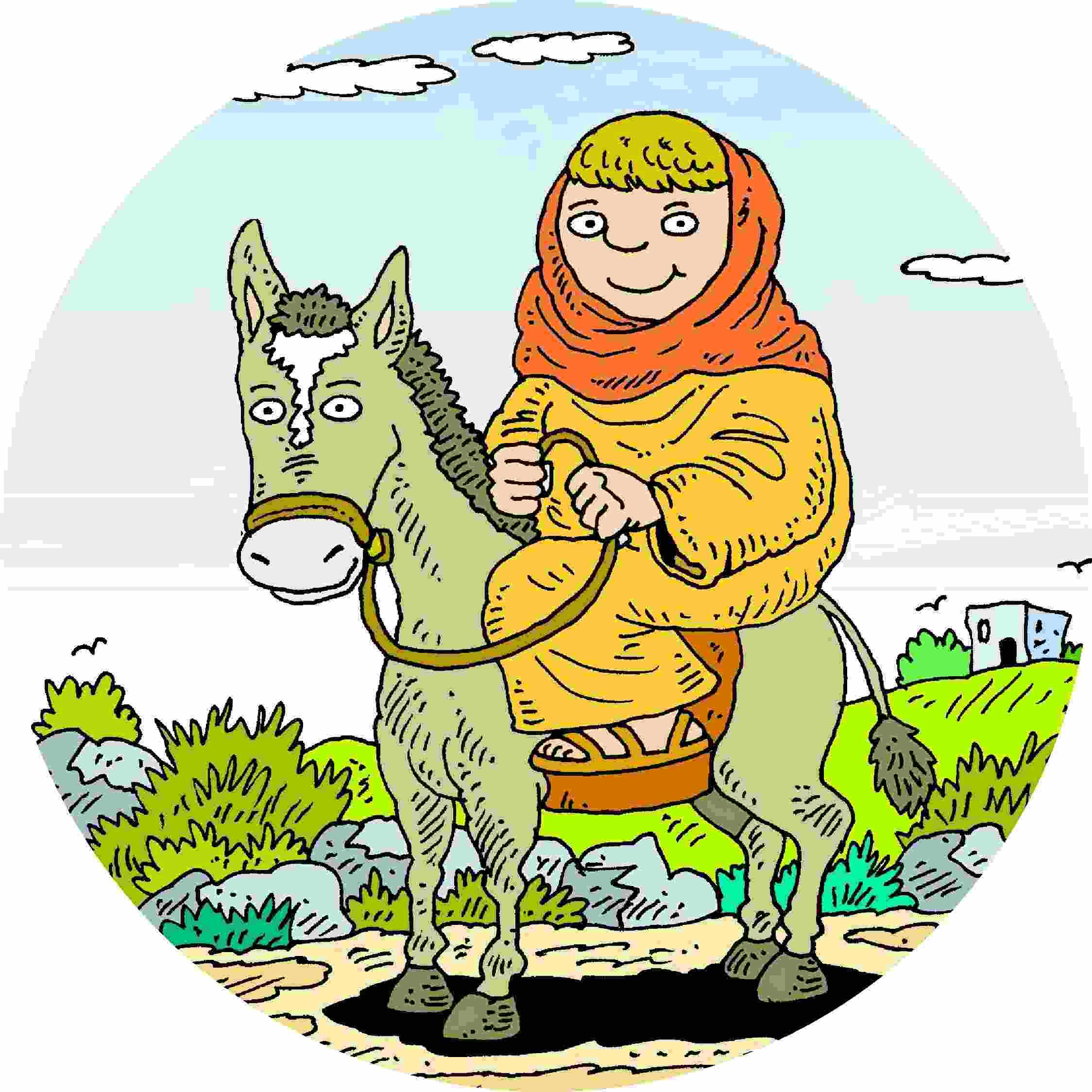 Donkey & Mary Col3