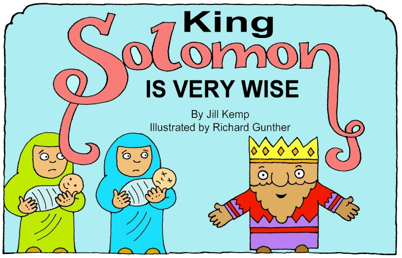 One page printable bibles stories old testament for King solomon crafts for preschoolers