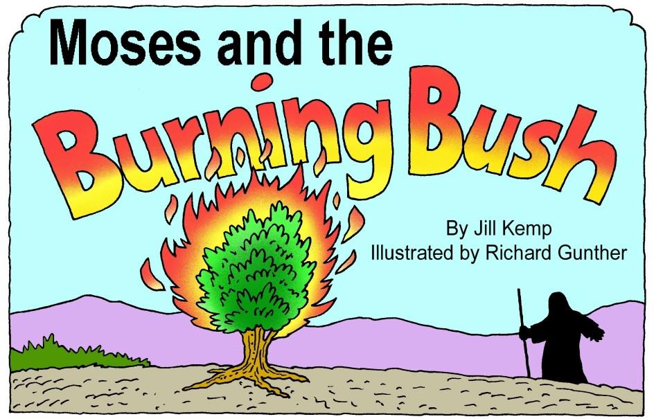 Moses Burning Bush Coloring Page Array