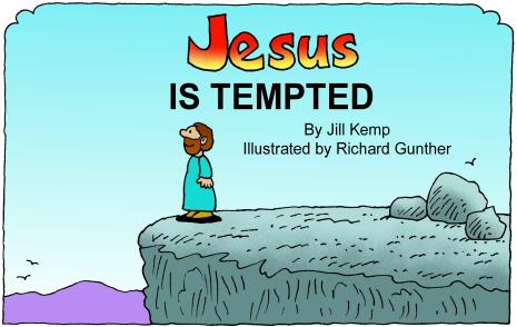 Jesus Is Tempted Colour Publisher