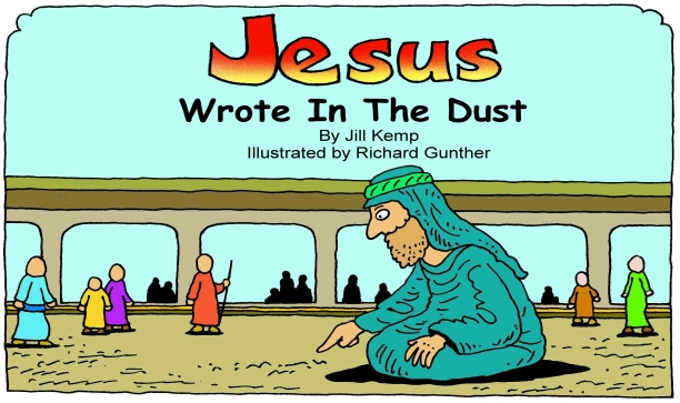 Jesus Wrote In The Dust Colour Publisher